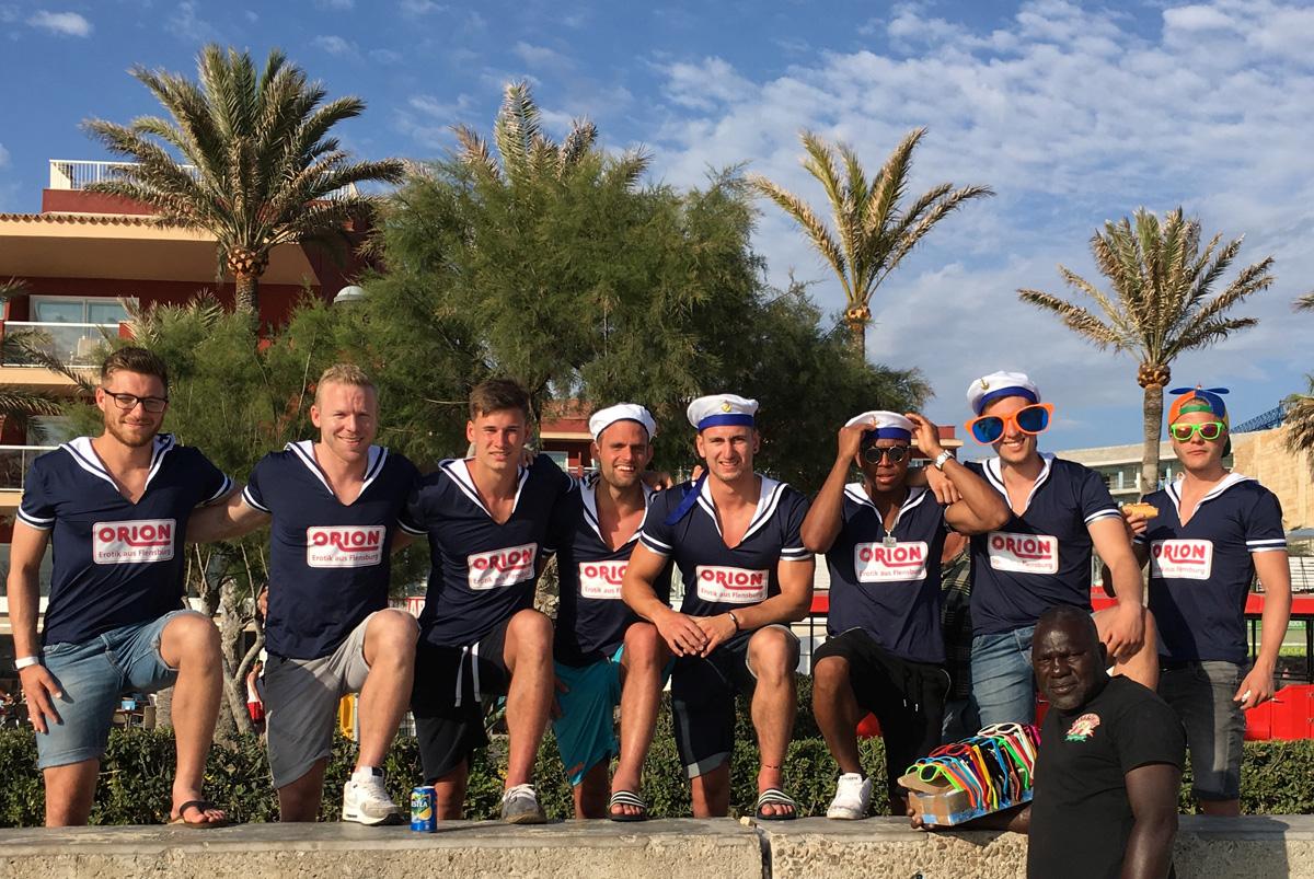 Für sportliche Höhepunkte: ORION-Partner ETSV Weiche feiert den Saisonabschluss auf Mallorca