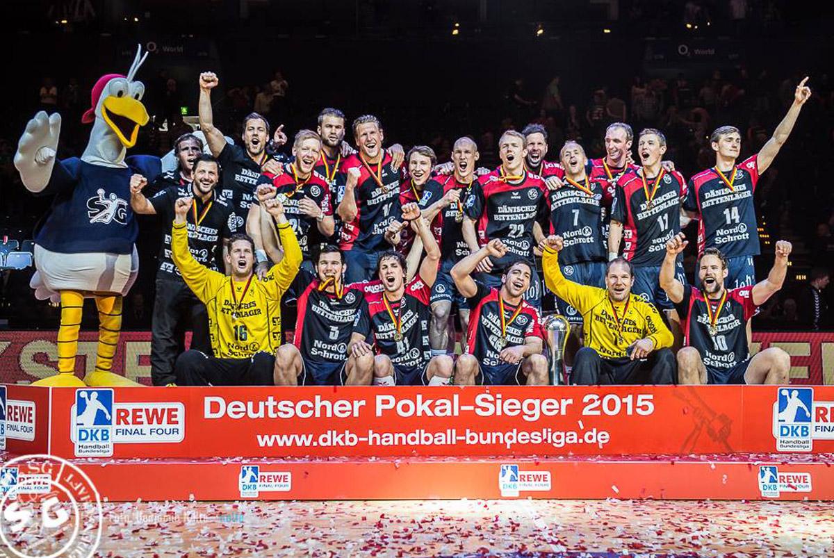Powered by ORION: Die SG Flensburg-Handewitt gewinnt den DHB-Pokal