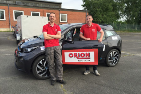 As If Electrified: Team ORION Goes China