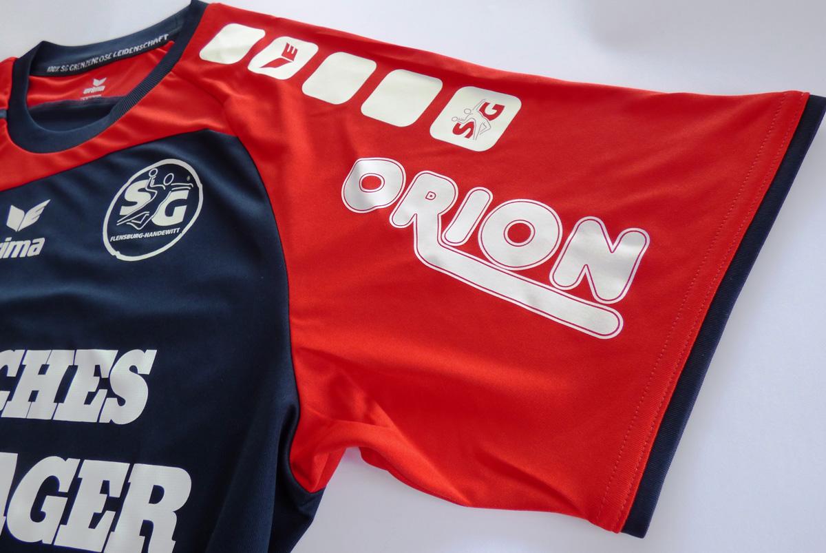 Ein heißes Saisonfinale: ORION wird Trikot Partner der SG Flensburg-Handewitt