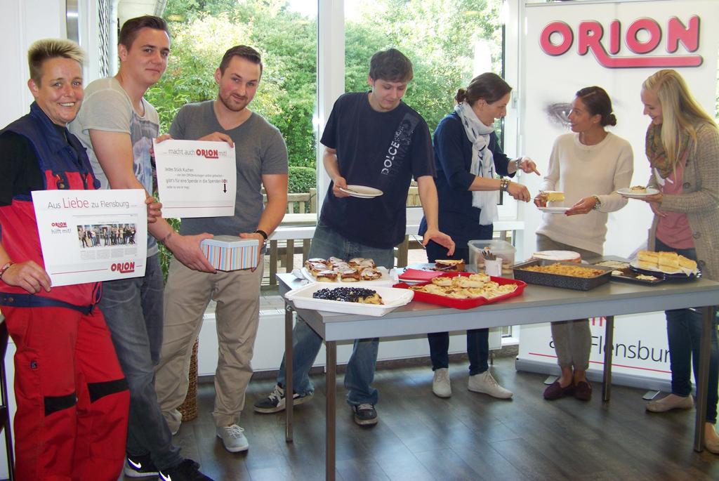 Aus Liebe zu Flensburg: ORION beteiligt sich an Bürgerwette