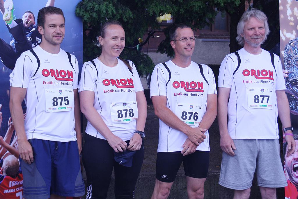 Sportliche Erfolge beim Flensburger Firmenlauf: ORION läuft in die Top Ten