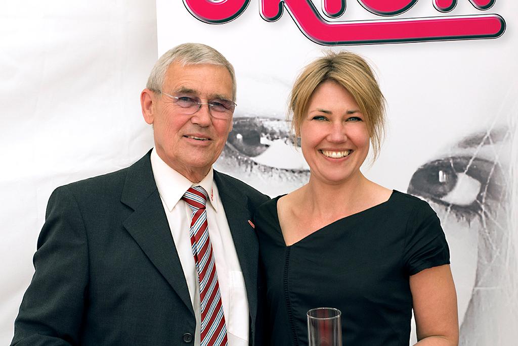 Führungswechsel bei ORION: Dirk Rotermund übergibt seiner Tochter die Geschäftsführung
