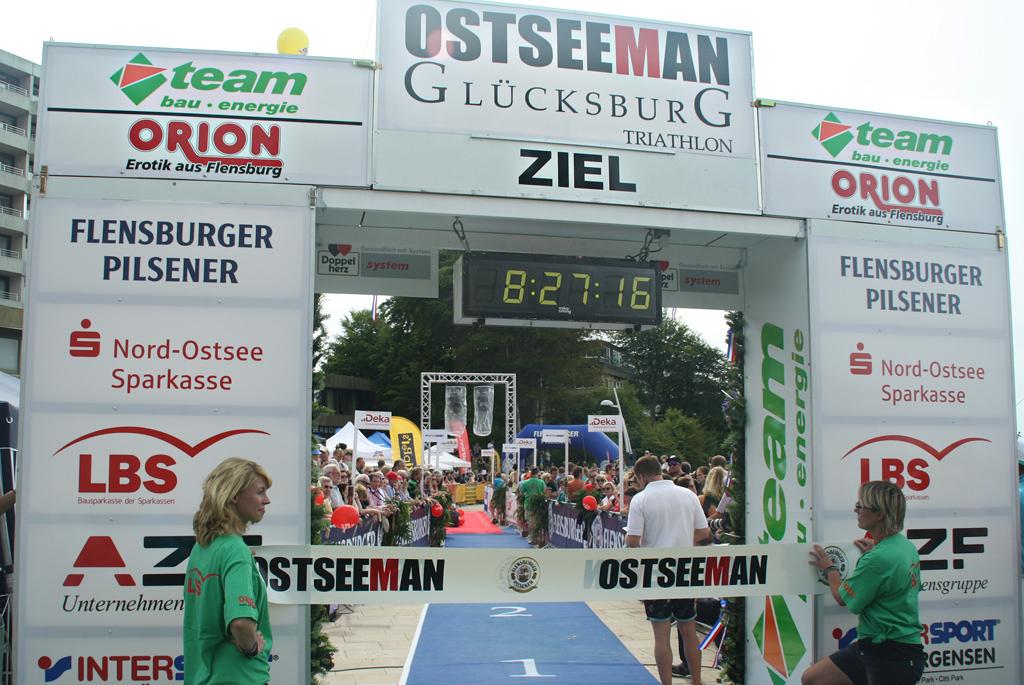 Für sportliche Höhepunkte: ORION sponsert den OstseeMan 2014