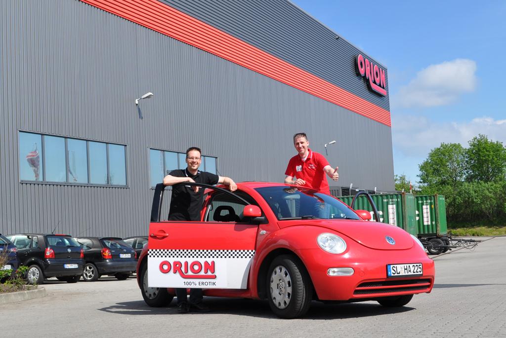 Leidenschaft für Handarbeit: Mit dem händisch umgebauten ORION-E-Beetle bei der E-Mobil Rallye