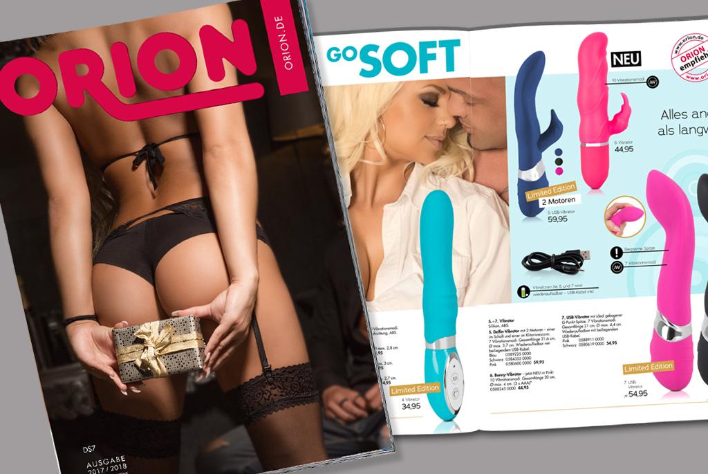 Saisonverlängerung bei ORION: Mit dem neuen Katalog wird's heiß