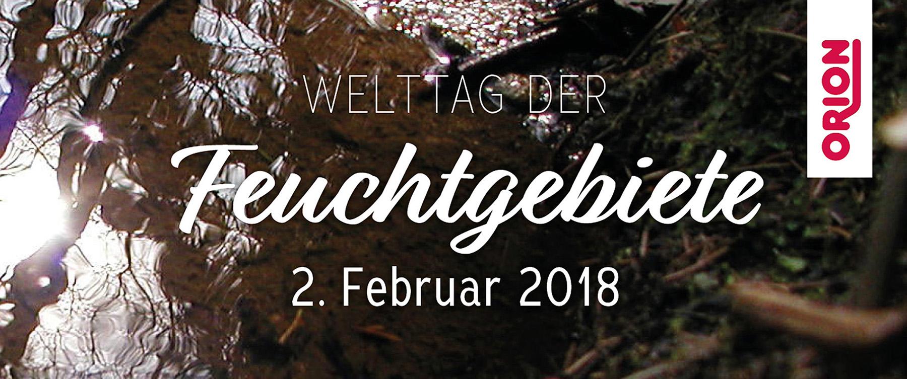 Welttag der Feuchtgebiete: ORION spendet an den NABU Schleswig-Holstein