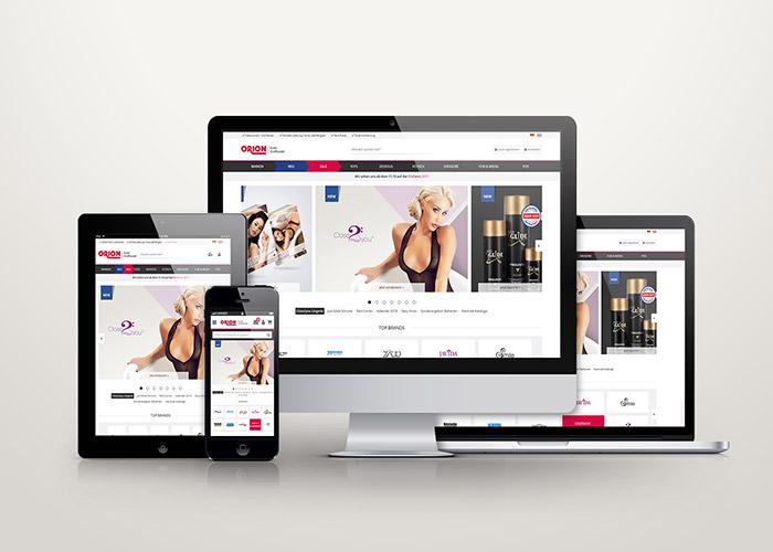 ORION Wholesale: Online Shop Relaunch