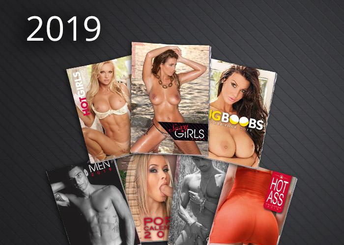 Neutrale Erotik-Kalender 2019 vom ORION Großhandel