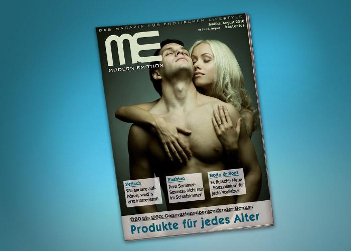 """Kostenloses, neutrales Kundenmagazin: Die Sommer-Ausgabe von """"Modern Emotion"""" ist da!"""
