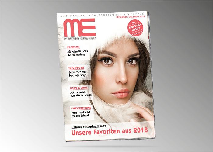 """Kostenloses, neutrales Kundenmagazin: Die Winter-Ausgabe von """"Modern Emotion"""" ist da!"""