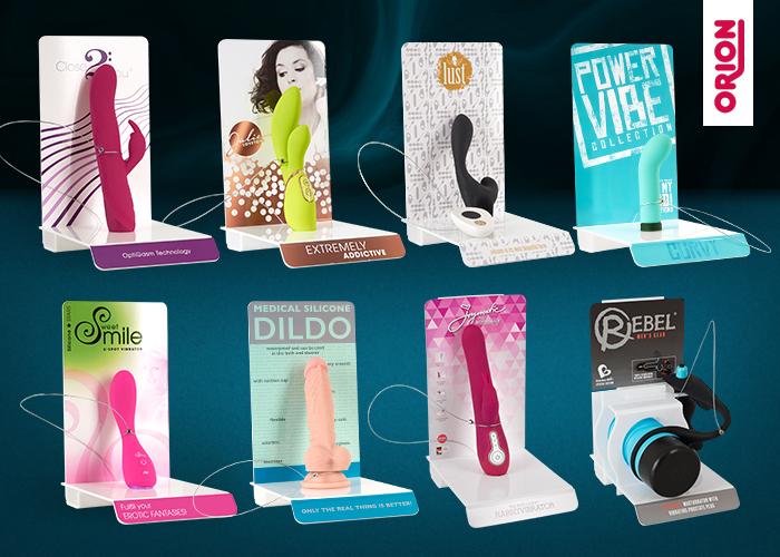 Zur optimalen Präsentation am Point of Sale: Neue Produkt-Displays vom ORION Großhandel