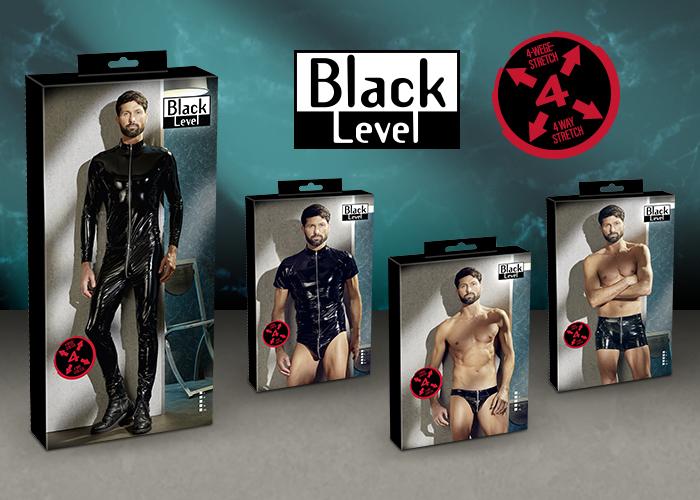 BLACK LEVEL: Neue Glanzstücke aus hochelastischem 4-Wege-Stretch-Material