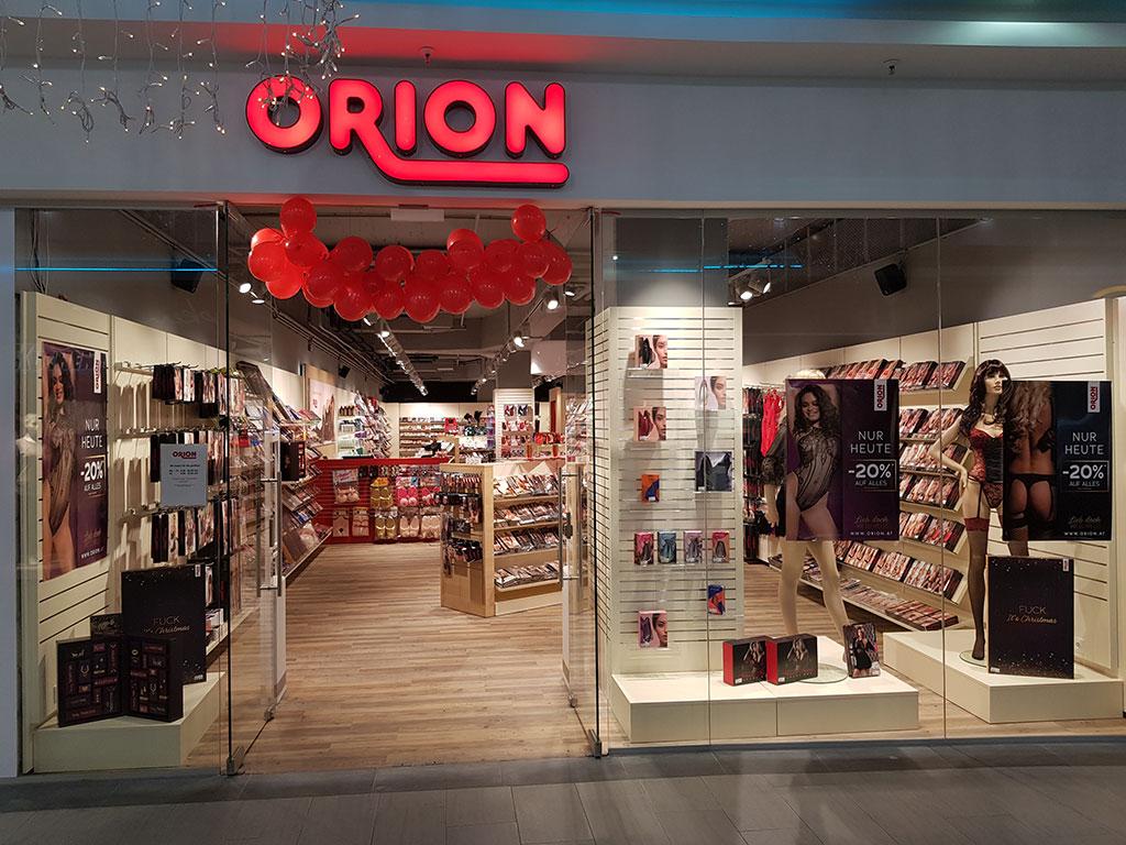 Neuer ORION Store in Österreich