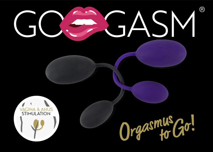 """Doppelter Lustgenuss mit den """"GoGasm P&A Balls"""""""