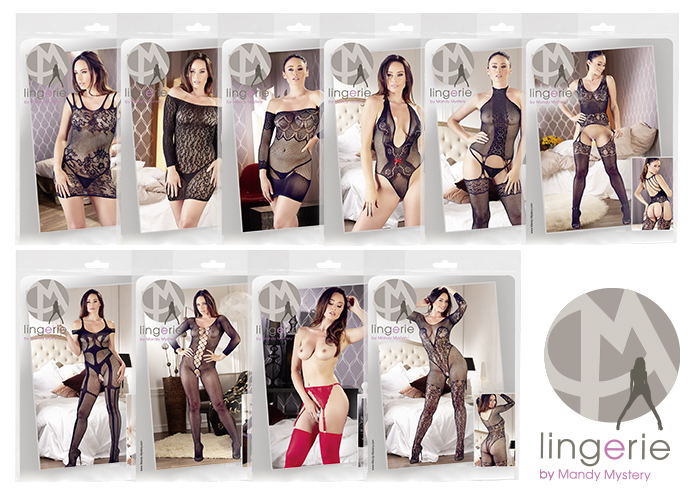 MANDY MYSTERY Lingerie: A new collection from this top seller