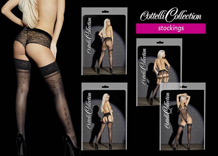 Cottelli Collection Stockings: Atemberaubende Strümpfe für den perfekten Verführ-Look
