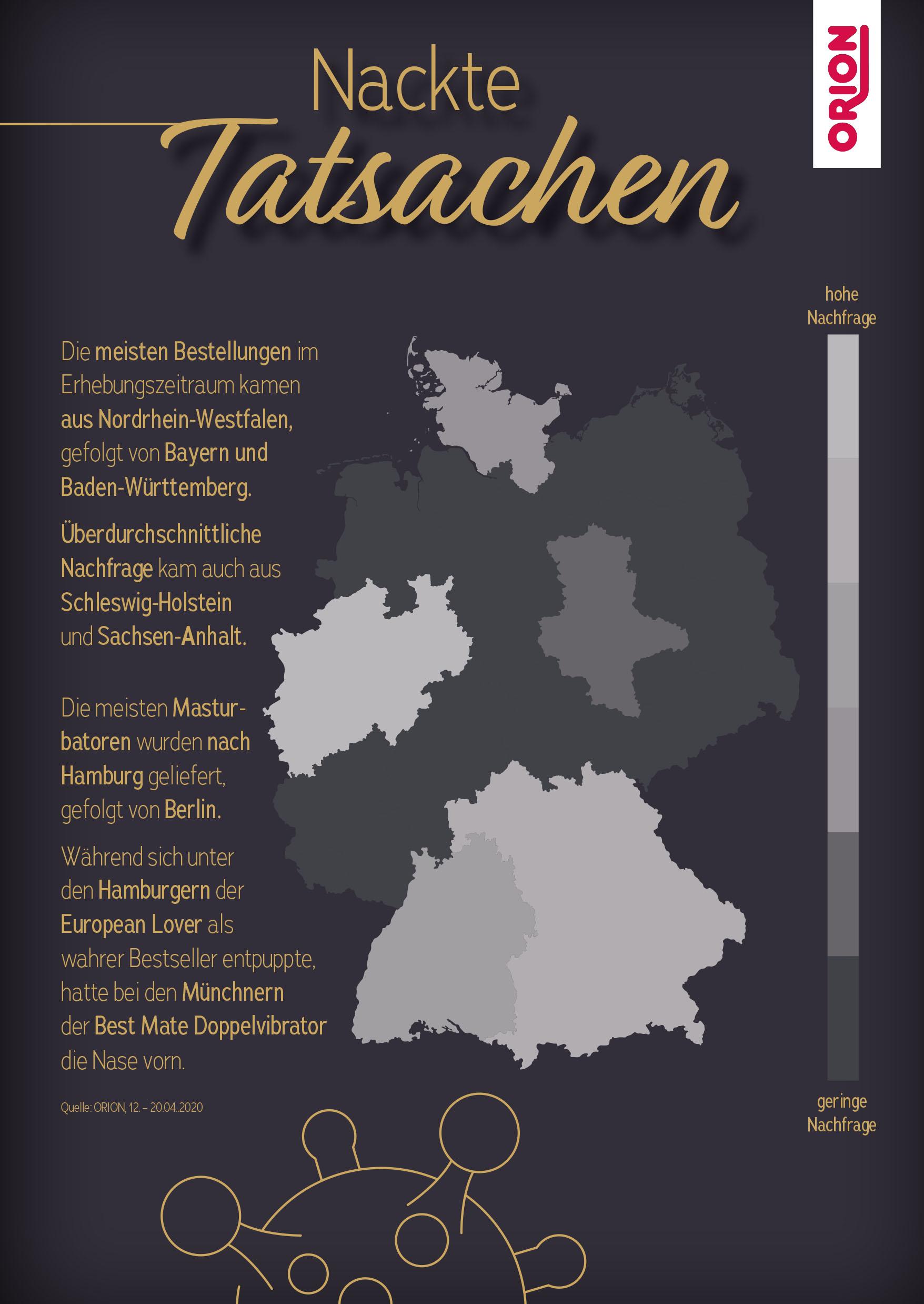 Nackte Tatsachen: Was bestellt Deutschland in Corona-Zeiten?