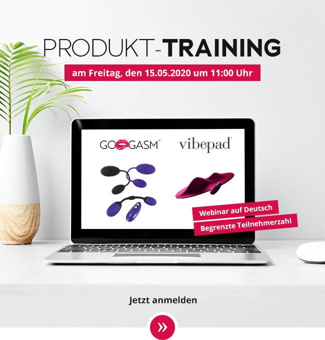 Produktschulungen per Webinar