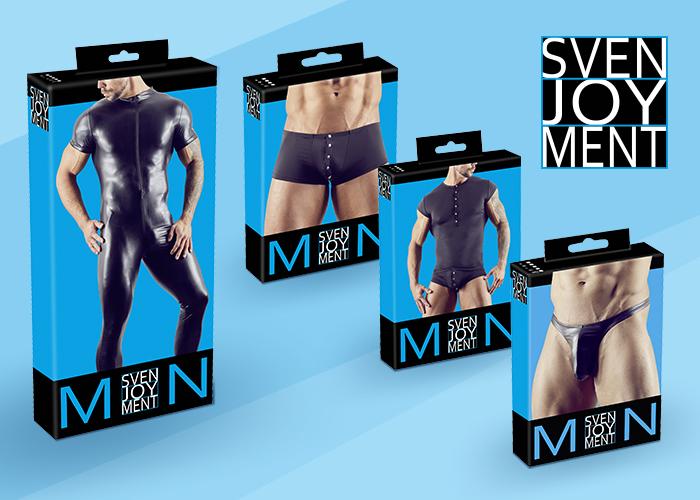 Lifestyle-Herrenwäsche von Svenjoyment in neuem Verpackungs-Design