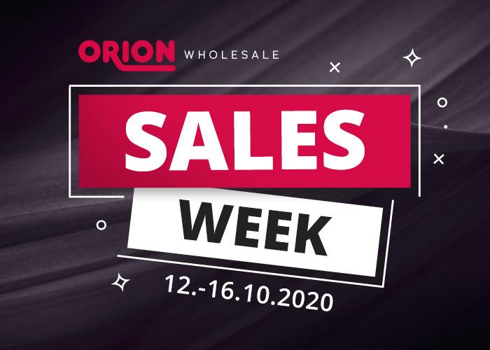 Bestens vorbereitet ins Weihnachtsgeschäft: ORION Sales Week mit Neuheiten und Angeboten