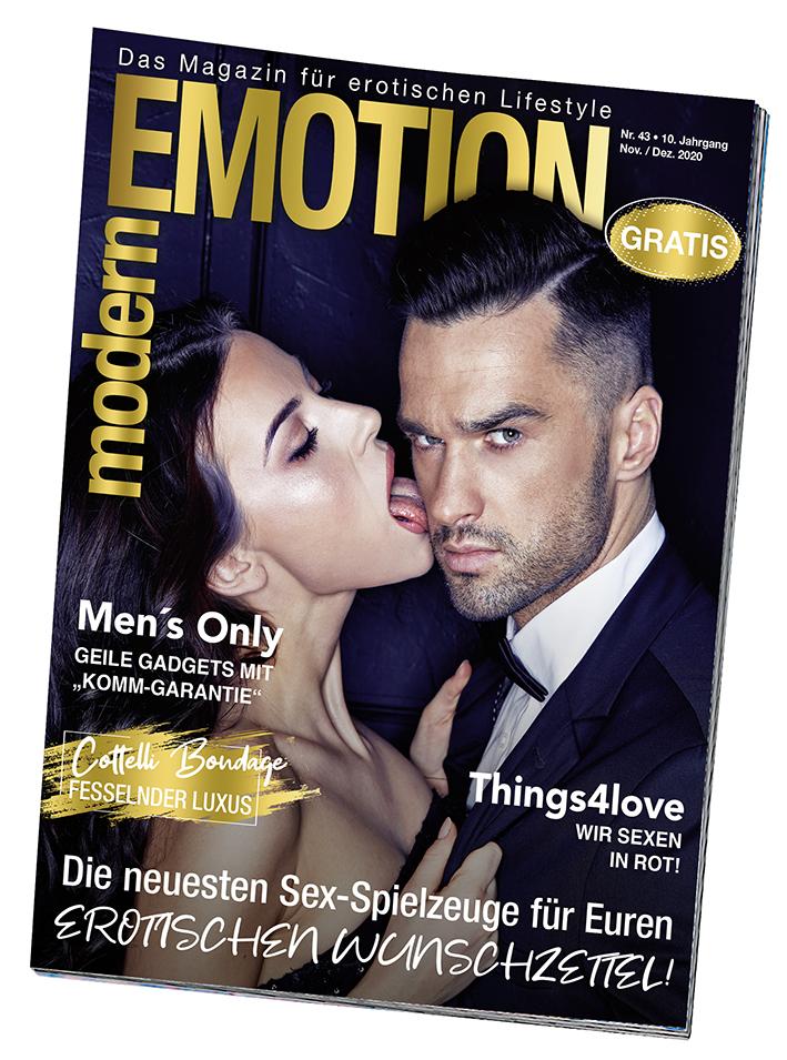 """Kostenloses, neutrales Kundenmagazin: Die Weihnachts-Ausgabe von """"Modern Emotion"""" ist da!"""