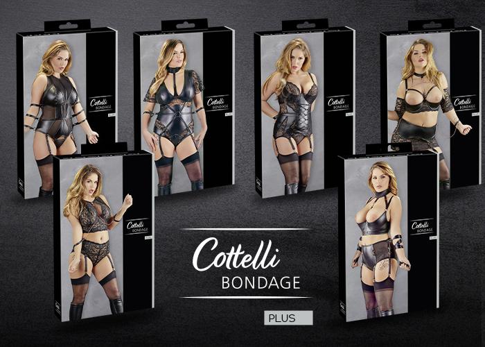 Cottelli Bondage: Dessous für fesselnde Lustmomente – jetzt auch in großen Größen