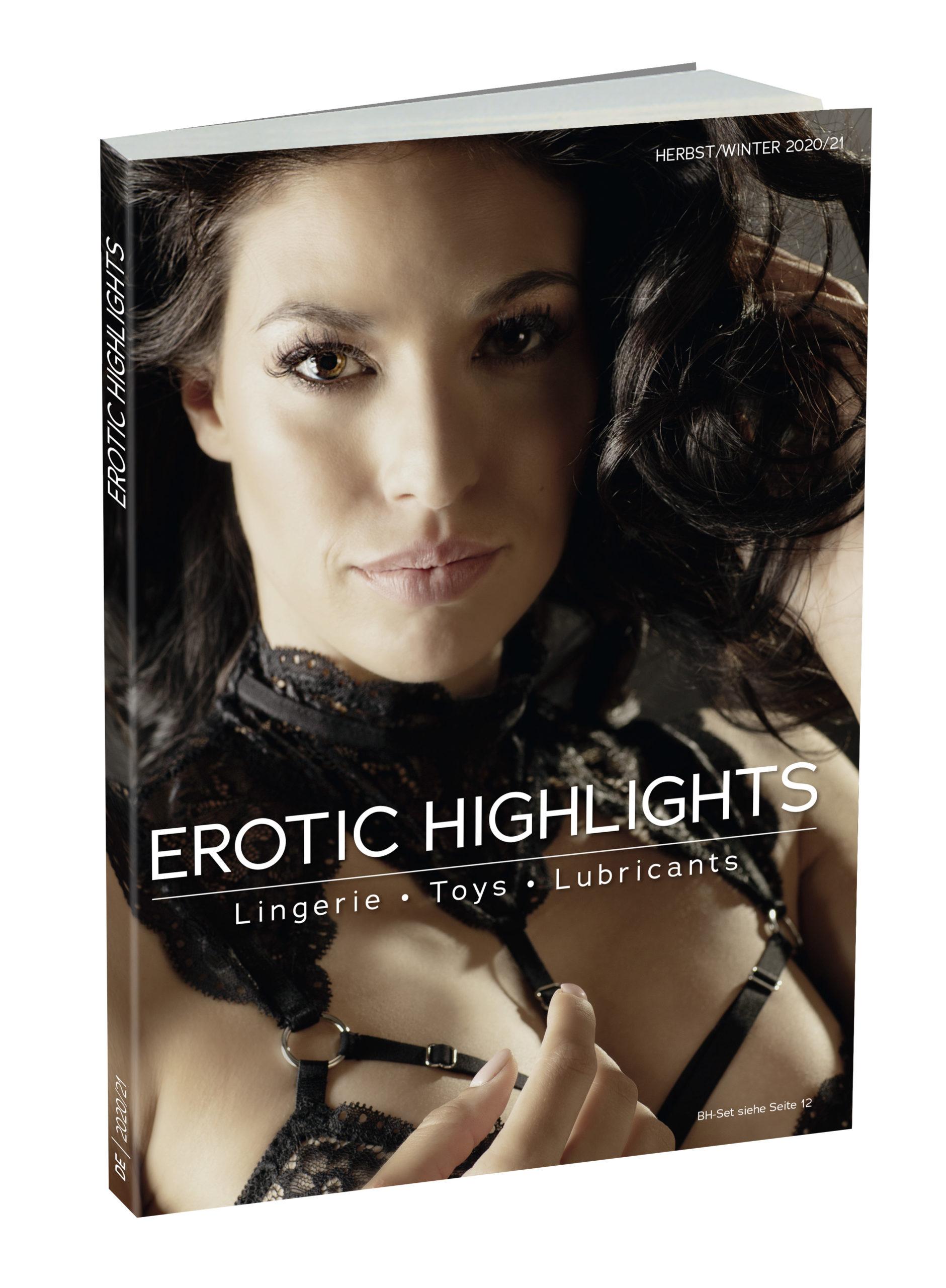 """Der neue Katalog """"Erotic Highlights 2020/21"""" ist da!"""