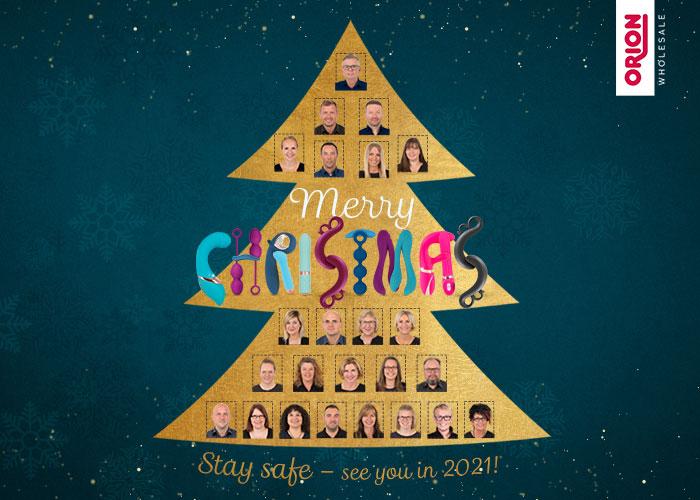 ORION Großhandel wünscht besinnliche Weihnachtstage