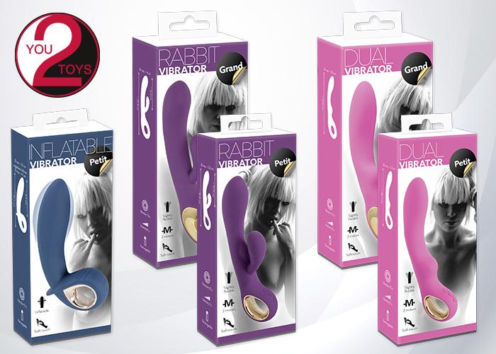 Formschöne Vibratoren von You2Toys