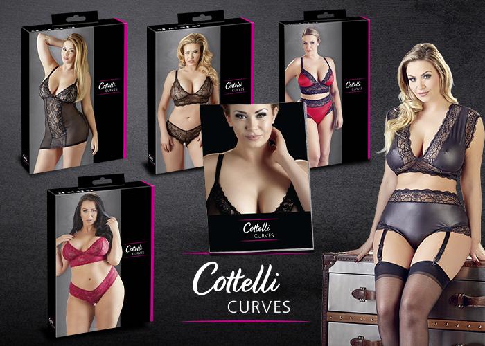 Cottelli Curves: Sexy Dessous für Frauen mit femininen Kurven