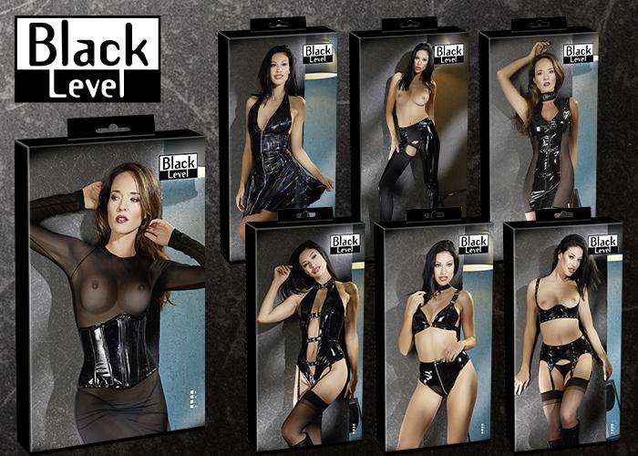 Atemberaubende Lack-Outfits von BLACK LEVEL