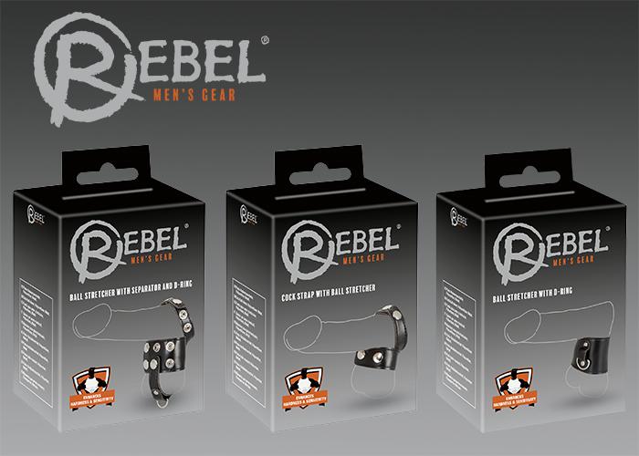 Hodenriemen in Leder-Optik von REBEL