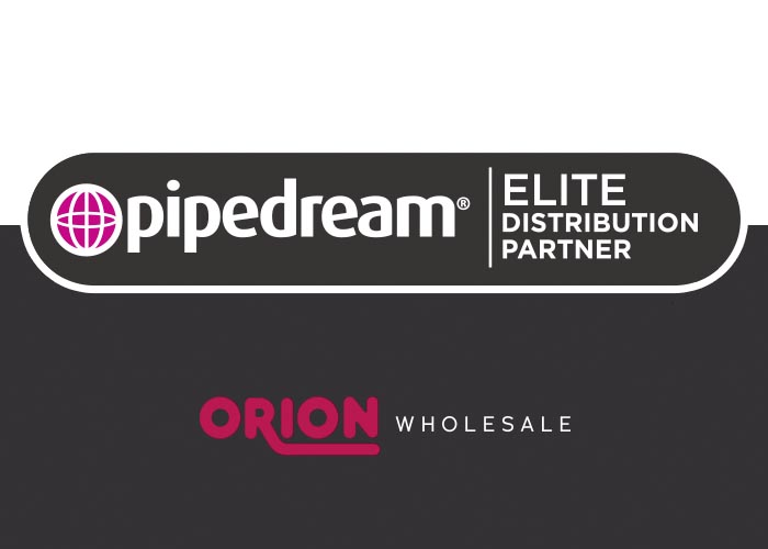 ORION Wholesale and Pipedream are celebrating a year of Elite Partnership