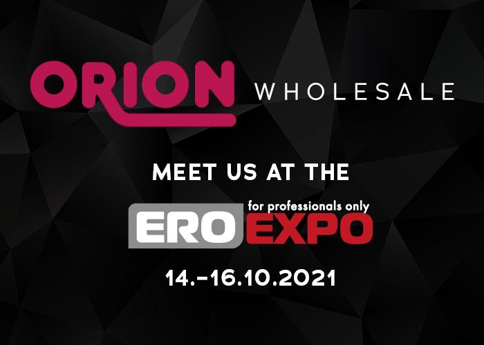 ORION Wholesale auf der EroExpo in Moskau