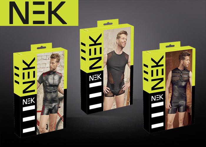 Neue Männerwäsche-Kollektion von NEK