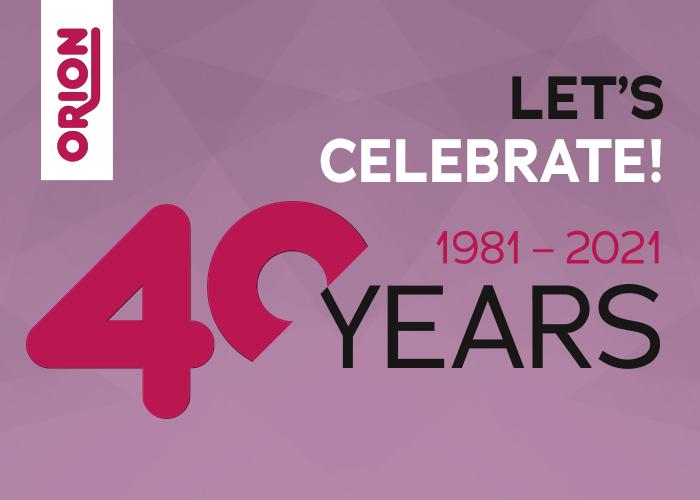 40 Jahre ORION – vom kleinen Versand zum Global Player